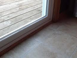 Patio Door Sill Leaking Sliding Glass Door Doityourself Community Forums