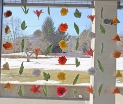 Decoration For Window Spring Fling Window Garland Carle Museum