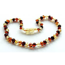 natural amber necklace images Baroque amber teething necklaces jpg