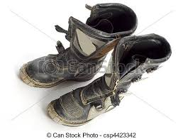 motocross bike boots dirt bike boots motocross bike boots with reflection on stock