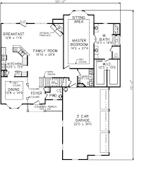baby nursery first floor master bedroom house plan a montgomery