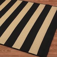 Beige Outdoor Rug Chic Stripe Braided Indoor Outdoor Rugs Shades Of Light