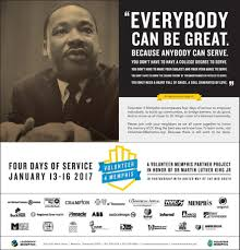 volunteer 4 memphis project honors dr martin luther king jr