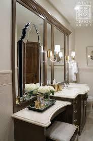 Espresso Bathroom Mirrors Ivory Framed Bathroom Mirrors Design Ideas