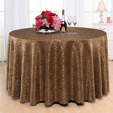 round table cloth covers high qualty jacquard fabric round table cloth polyester rectangular