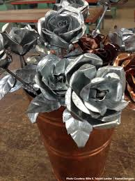 metal roses sheet metal roses return for s day hawaii