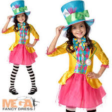 kids costume mad hatter fancy dress book day in