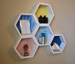 Diy Honeycomb Shelves by Honeycomb Hexagon Wall Shelves Land Of Nod Inspired