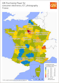 Provence France Map by Map Of The Month Gfk Purchasing Power For Consumer Electronics