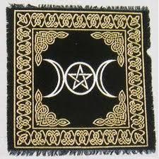 Pentacle Rug Sandie U0027s Psychic Stones U0026 Stuff Altar U0026 Elemental Tools