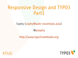 responsive design typo3 responsive web design