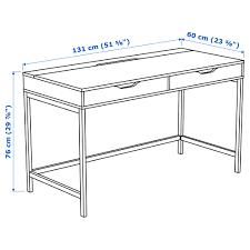 Schreibtisch Auf Rollen Alex Schreibtisch Grau Ikea