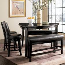ashley dining table with bench bench emory triangle pub table 2 stools and benches by ashley with