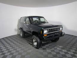 white bronco car restored 1988 ford bronco ii xlt offroad for sale