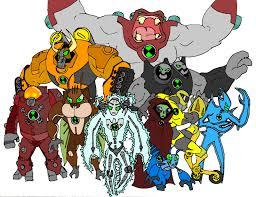 image gallery ben 10 aliens
