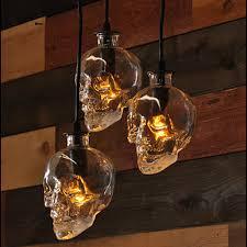 hanging glass pendant lights vintage skull head glass pendant light ls hanging pendant ls