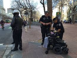 s f city vehicle hits woman in wheelchair on market street sfgate