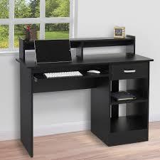 wood multiple monitor computer desk pdf plans arafen