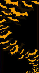 repeating background halloween halloween background with castle bats and pumpkin vector image