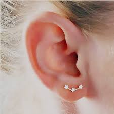 constellation earrings polaris constellation earrings womens earrings minimal