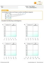 primaryleap co uk carroll diagrams worksheet t4l pinterest