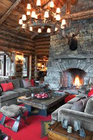 Rustic Hearth Rugs Native American Rugs Living Room Rustic With Brown Leather Cabin