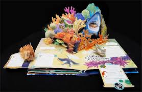 oceans a pop up book with revolutionary technology lucio