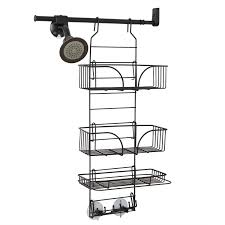 zenna home e2600hb make a space wire shower caddy bronze