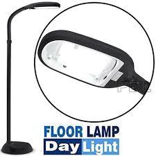 floor l with adjustable neck floor standing daylight led reading hobby work craft sad standard