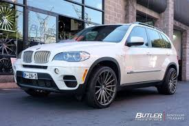 Bmw X5 Custom - bmw x5 with 22in vossen vfs2 wheels exclusively from butler tires