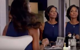viagra commercial actress in blue dress who s the black girl in the new viagra commercial tish graves