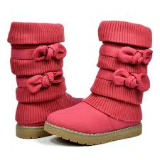 sweater boots buy pairs klove knit sweater winter fur boots now