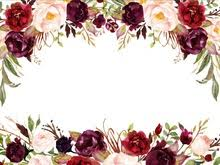 burgundy flowers buy burgundy backdrop and get free shipping on aliexpress