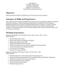 Best Technical Resume Examples by Cozy Ideas Pharmacy Technician Resume Sample 6 Pharmacy Technician