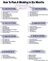what do you register for wedding 6 month wedding planning timeline preparation party xyz