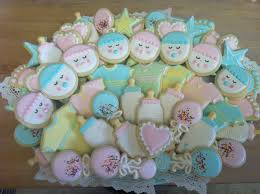 pastel baby shower cookies decorated cookies pinterest