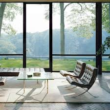 Barcelona Chair Interior Knoll Barcelona Chair Contemporary Leather Lounge Chair