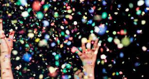 party confetti party theme ideas
