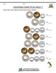 grade 3 counting money worksheet on counting canadian money the 5
