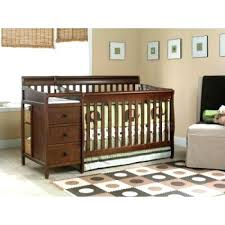 White Cribs With Changing Table Baby Cribs With Changing Table Attached Cherry Wood Crib Sets