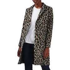 Womens Car Coat Women U0027s Topshop Leopard Print Car Coat Polyvore