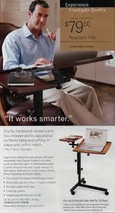 Adjustable Rolling Laptop Desk by Best 25 Adjustable Laptop Table Ideas On Pinterest Portable