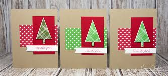 christmas thank you cards a tale of 3 christmas thank you cards ink it up with