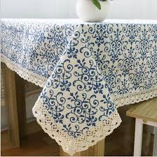 Cheap Table Linen by Table Cloth National China Blue And White Porcelain Linen