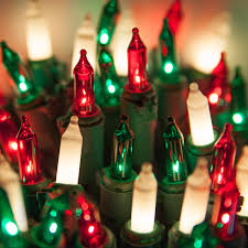 C9 White Christmas Lights Salient Lights Lights To Dashing Red Green Frosted Mini