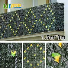 uland artificial plants for backyard 1 pcs 150cm 300cm plastic