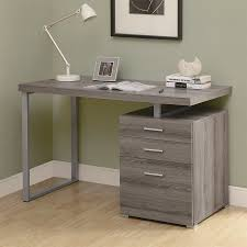 Computer Desk With File Cabinet Shop Office Furniture At Lowes Com