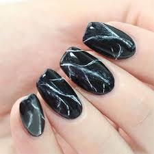 18 black marble nails art designs u0026 ideas 2017 fabulous nail art