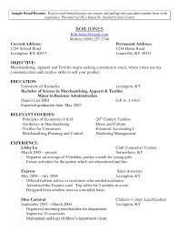 Sample Retail Manager Resume by Resume Store Manager Resume Samples