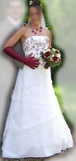 robe mari e bordeaux de mariée pas cher ivoire bordeaux occasion du mariage